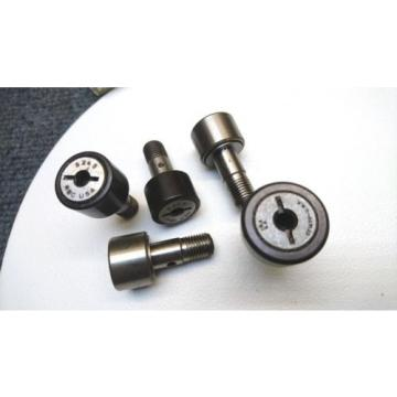 Selection of 5x Cam Follower Track Rollers - New old stock RBC S24S and others