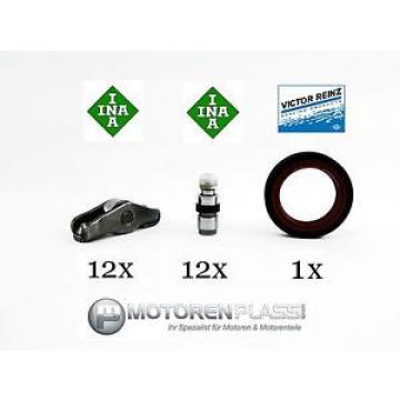 12x Roller cam follower 12 Ventiltoessel 1 Oil seals VW Audi 2,5 TDI BDG BCZ BAU