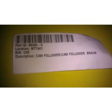 GENUINE BRAUN ACCURATE BUSHING WHEEL CHAIR LIFT CAM FOLLOWER 84392 / 84392-0
