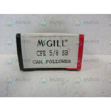 MCGILL CFE-5/8-SB CAM FOLLOWER *NEW IN BOX*
