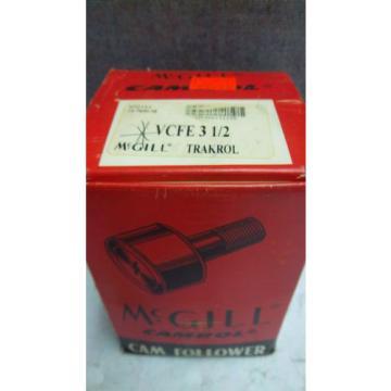 MMCGILL CAMTROL TRAKTROL CAM FOLLOWER VCFE-3-1/2 NEW VCFE312