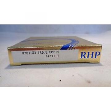 NEW IN BOX RHP B7011X3 TADUL EP7 M SUPER PRECISION BEARING