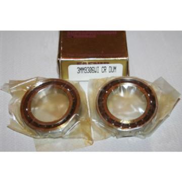 Fafnir Torrington 3MM9306.WI.CR.DUM Super Precision Bearings (Set of 2) * NEW *