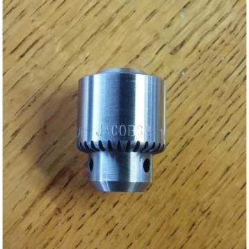 JACOBS 1A Keyed Steel Drill Chuck, Plain Bearing Type NEW!! FREE SHIPPING!! #4C#
