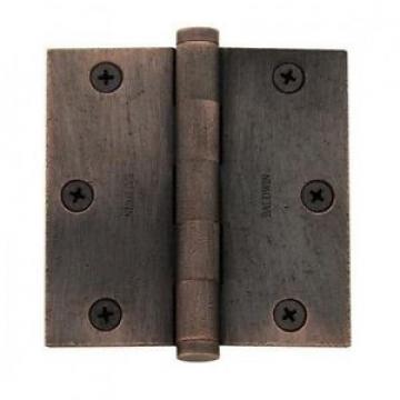 Baldwin 1035.I Plain Bearing Mortise Hinge Door Hinge 3 1/2 x 3 1/2 ;Distressed