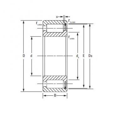 Timken Full complementNCF18/670V