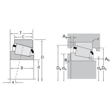 Timken M88040A / M88022