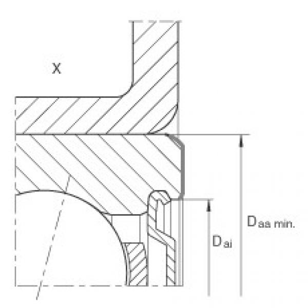 Angular contact ball bearing units - ZKLR1244-2RS #2 image