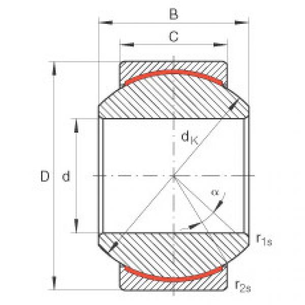 Radial spherical plain bearings - GE20-PW