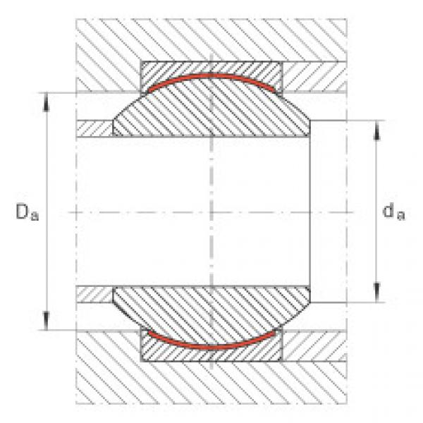 Radial spherical plain bearings - GE6-PW