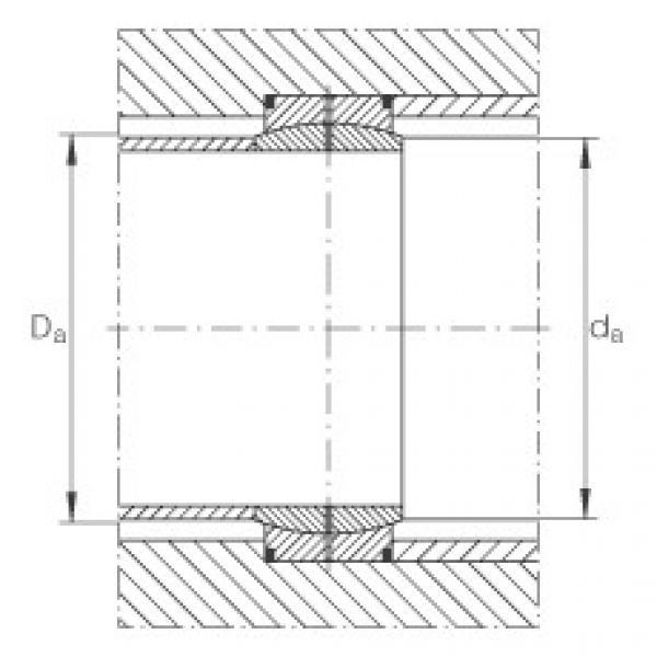Radial spherical plain bearings - GE900-DO