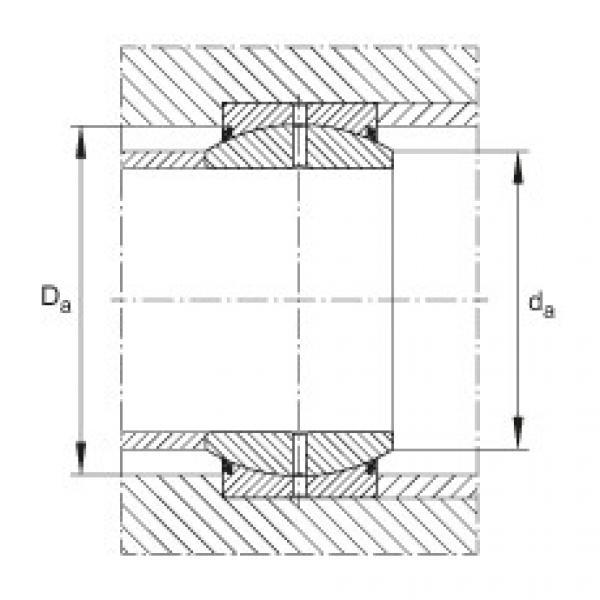 Radial spherical plain bearings - GE20-DO