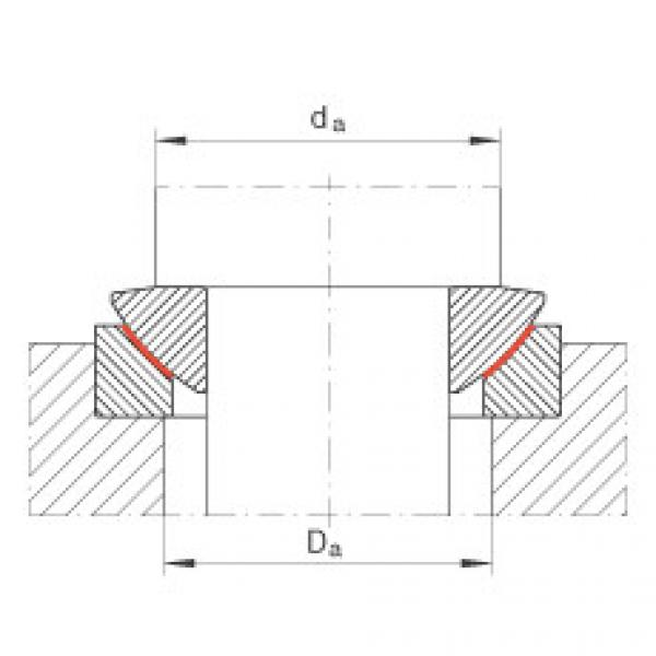Axial spherical plain bearings - GE20-AW #2 image
