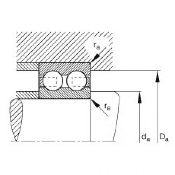 Deep groove ball bearings - 4204-B-TVH