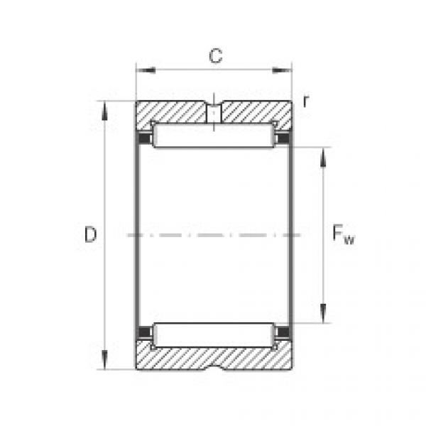Needle roller bearings - NKS24-XL