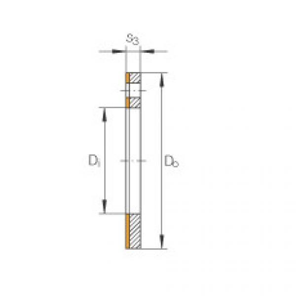 Thrust washers - EGW12-E40-B #1 image