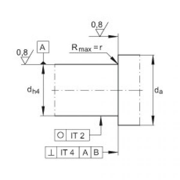 Axial angular contact ball bearings - 7603020-2RS-TVP