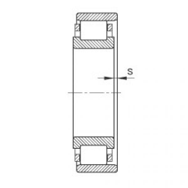 Cylindrical roller bearings - N217-E-XL-TVP2 #2 image