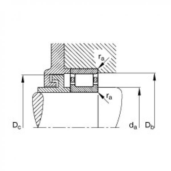 Cylindrical roller bearings - N217-E-XL-TVP2 #3 image