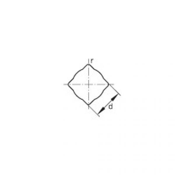 Self-aligning deep groove ball bearings - GVKE16-205-KRR-B-2C-AS2/V-AH01 #2 image