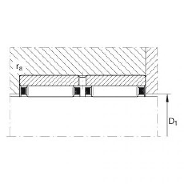 Needle roller bearings - RNAO25X35X26-ZW-ASR1-XL