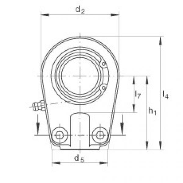Hydraulic rod ends - GIHRK25-DO