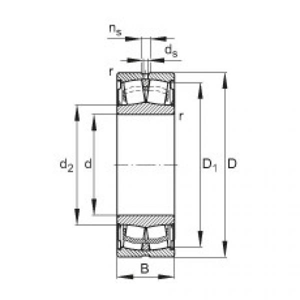 Sealed spherical roller bearings - WS22218-E1-XL-2RSR #1 image