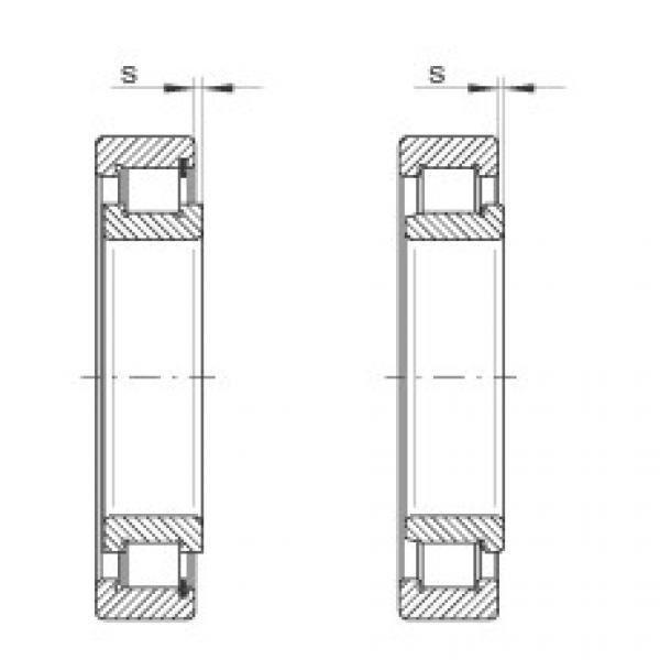 Cylindrical roller bearings - SL192312-XL