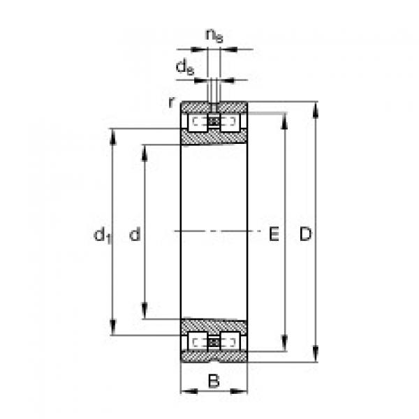 Cylindrical roller bearings - NN3017-AS-K-M-SP #1 image