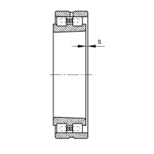 Cylindrical roller bearings - NN3017-AS-K-M-SP #2 image