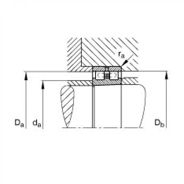 Cylindrical roller bearings - NN3017-AS-K-M-SP #3 image