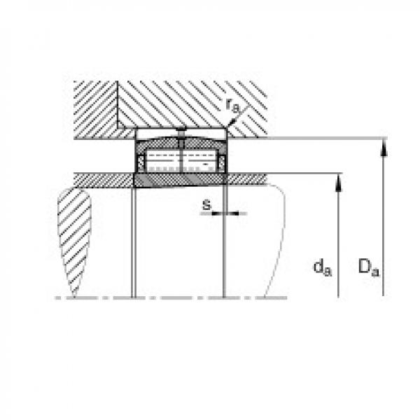 Cylindrical roller bearings - F-800593.ZL-K-C5 #2 image