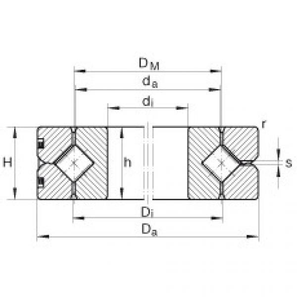 Crossed roller bearings - SX011820