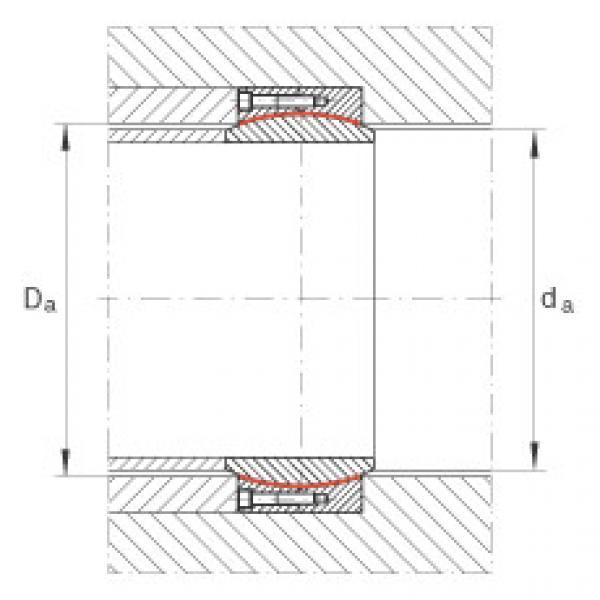 Large radial spherical plain bearings - GE500-DW #2 image