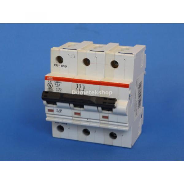ABB S283-UX K5A 3- Pole Circuit Breaker