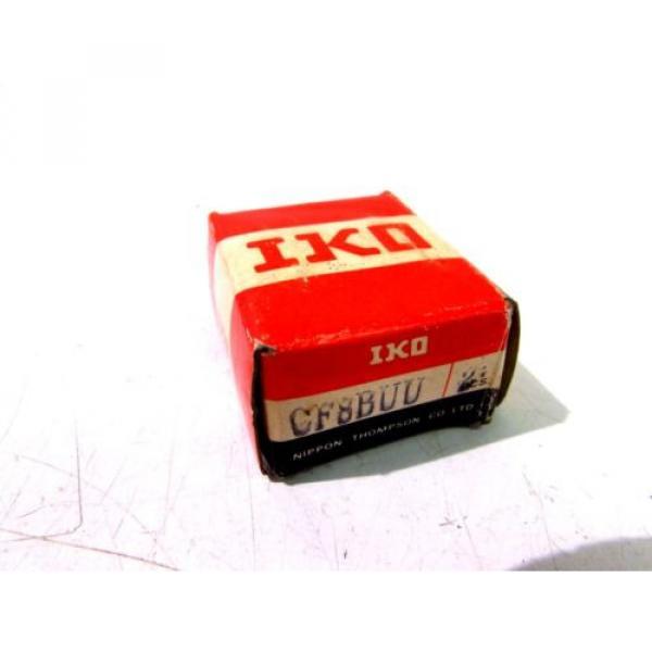 IKO CF8BUU ROLLER BEARING CAM FOLLOWERS (2PK) **NIB** #1 image