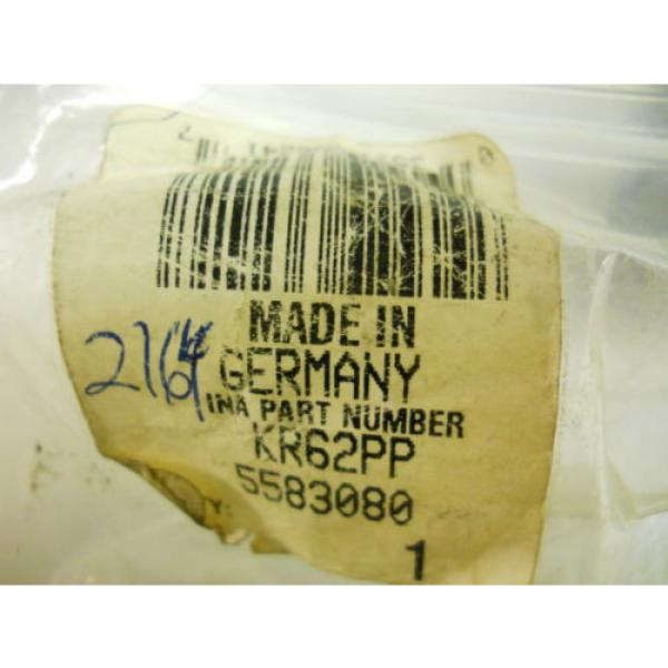 """INA KR62PP CAM FOLLOWER 2-7/16"""" DIA NEW CONDITION IN PACKAGE"""