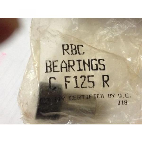 "1 new RBC bearing F125-R Cam Follower  NEW 1 1/4""   3/4 dia shaft 1 1/8"" in box"