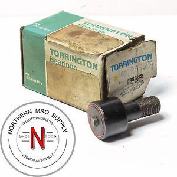 TORRINGTON BEARINGS CRSB12 CAM FOLLOWER, OD: 19mm, W: 12.6MM