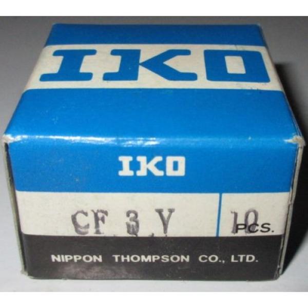 Bearing IKO CF3Y Nippon Thompson 8011017 CAM FOLLOWER PKG 10 NEW Lot Set