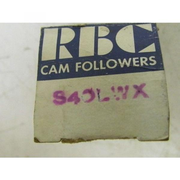RBC s-40-LWX Cam-Centric Cam Follower Bearing NIB