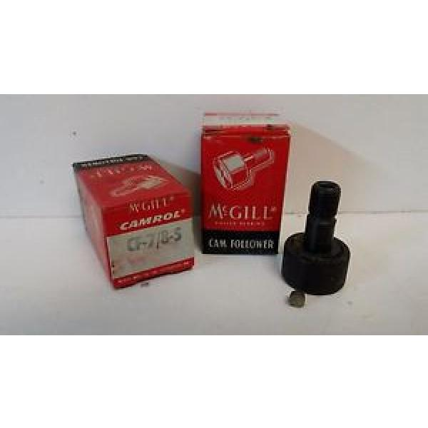 LOT OF (2) NEW OLD STOCK! MCGILL CAM FOLLOWERS CF-7/8-S