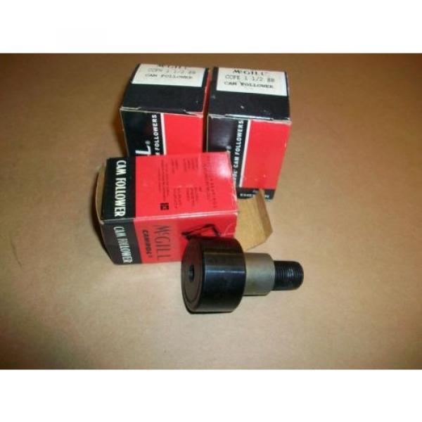 3pc McGill Cam Follower CCFH 1 1/2  CCFE 1 /2    NEW IN BOX #1 image