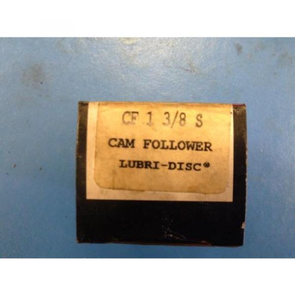 McGill Cam Follower Lubri-Disc CF1 3/8 S #4 image