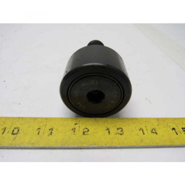 """McGill CF-2-SB Camrol 2"""" Cam Follower Bearing Hex Hole W/Lubri-Disc Seals"""