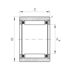 Needle roller bearings - NK10/16-TV-XL