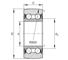 Track rollers - LR5200-2Z-TVH-XL