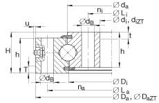 Four point contact bearings - VU200260