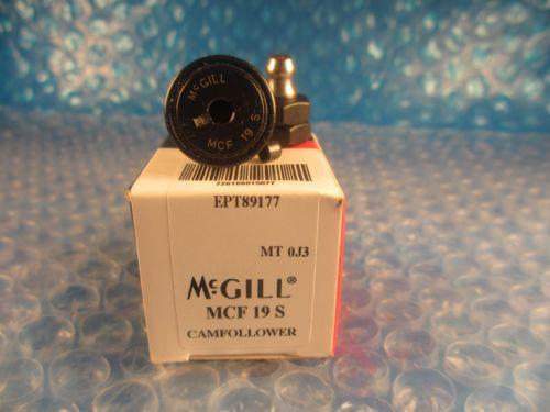 McGill MCF19S, MCF 19 S, Series Metric CAMROL® Cam Follower Bearing