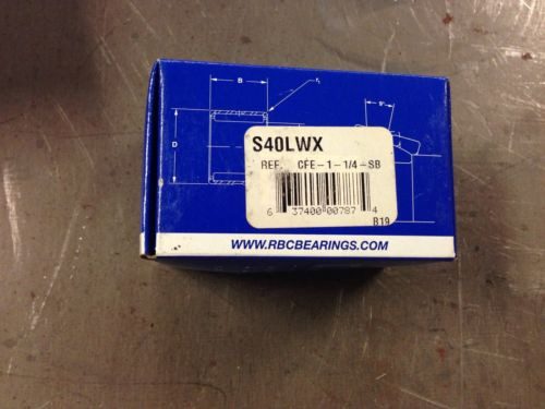 S40LWX RBC New Cam Follower